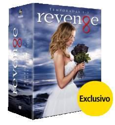 [Saraiva] DVD Revenge - Temporadas 1 A 3 - 15 Discos - Exclusivo R$69,90