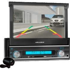"""[Americanas] Media Player Automotivo Yep! Aquarius MPA 2004 Tela Touch Screen 7.0"""" Retrátil e Câmera de Ré R$199,00"""