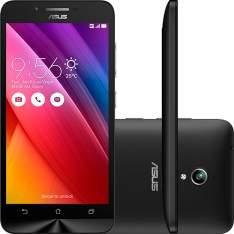 """[Submarino] Smartphone Asus Zenfone Go Dual Chip Desbloqueado Android 5 Tela 5"""" 16GB 3G Câmera 8MP - Preto R$695,79 Use o cupom: ABREALAS"""