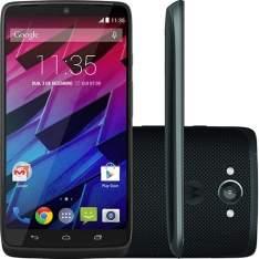 """[Submarino] Smartphone Motorola Moto Maxx Desbloqueado Android 4.4 Tela 5.2"""" Memória 64GB Wi-Fi Câmera 21MP Preto R$1.709,15"""