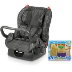 [Walmart] Kit Cadeira para Automóveis Matrix Evolution Lotus até 25 Kg Cinza Burigotto + Kit Shampoo por R$ 419