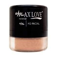 [Netfarma] Pó Facial Max Love, Bege Castanho - R$4