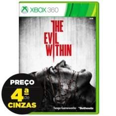 [Insinuante] Jogo The Evil Within para Xbox 360 (X360) - Bethesda por R$ 66