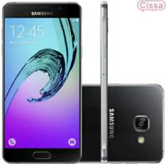 [Cissa Magazine] Smartphone Samsung Galaxy A5 2016 Duos A510 Desbloqueado Preto por R$ 1716