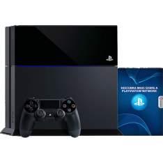 [Shoptime] Console PS4 500GB + 1 Controle Dualshock 4 (Fabricado no Brasil com 1 ano de garantia) - Sony por R$ 1716