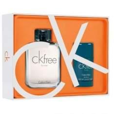 [Ricardo Eletro] Coffret Calvin Klein CK Free: Eau de Toilette 100ml + Desodorante 75g por R$ 150