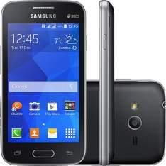 "[Sou Barato] Smartphone Samsung Galaxy Ace 4 Neo Duos Dual Chip Desbloqueado Android 4.4 Tela 4"" 4GB 3G 3MP - Preto R$350,10"