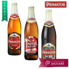 [Supermercado Jaguaré/Loja Física] Cerveja Tcheca PRIMÁTOR, nas versões ENGLISH PALE ALE, PREMIUM e DOUBLE (500 ml) por R$ 7