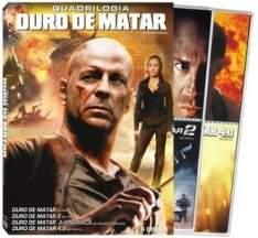 [Saraiva] Filme Duro de Matar - Quadrilogia - 4 DVDs - R$20