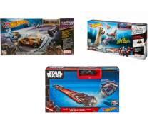 [Americanas]  Hot Wheels Pistas Combate - Mattel - (Star Wars / Marvel -Capitão América ou Guardião das Galaxias)  - R$ 39,90
