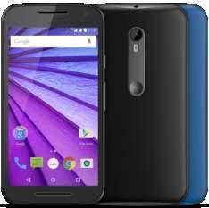 """[Saraiva] Motorola Moto G 3ª Geração 16Gb Preto Colors 4G Tela 5"""" Android 5 Câmera 13Mp Dualchip (Frete Grátis) por R$ 944"""