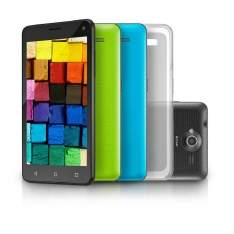 [Loja MultiLaser] Smartphone MS50 Preto Colors QuadCore Dual Cam 8MP + 5MP 16GB Android Lollipop 5 - NB220 por R$ 474