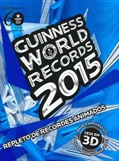 [Amazon] Livro eBook Guinness World Records 2015 - R$10