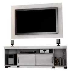 """[casas bahia] Rack com Painel Madetec Annecy para TVs de até 50"""" por R$185"""