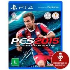 [Insinuante] Jogo Pro Evolution Soccer 2015 (PES 15) para Playstation 4 (PS4) - Konami por R$ 19