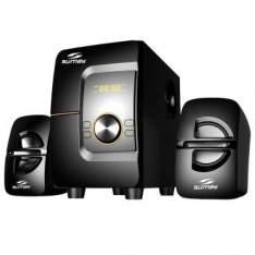 [Insinuante] Mini System 28W RMS Sumay com Cartão de Memória SD/MMC, Rádio FM, Bluetooth e USB - SM-CS3690B por R$ 190