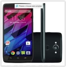 """[Submarino] Smartphone Motorola Moto Maxx Desbloqueado Android 4.4 Tela 5.2"""" Memória 64GB Wi-Fi Câmera 21MP Preto por R$ 1619"""