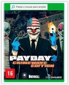 [Submarino] Game Payday 2: Crimewave Edition - Xbox One por R$ 40