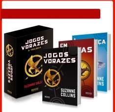 [AMERICANAS] Box Jogos Vorazes - 3 livros por 30