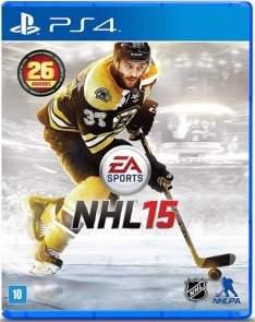 [Livraria Cultura] Jogo NHL 15 PS4 - R$50
