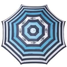 [Ponto Frio] Guarda-Sol Mormaii Listrado 160cm - Azul c/ 40% de desconto!