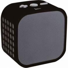 [Sou Barato] Caixa de Som Bluetooth Leadership Cubo com entrada auxiliar P2 - R$36