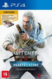 [Saraiva] Jogo The Witcher 3 - Wild Hunt - Hearts Of Stone - Pacote de Expansão - PS4 - R$124
