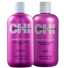 [VOLTOU - Beleza na Web] Kit Shampoo e Condicionador CHI Magnified Volume, 355ml - R$78