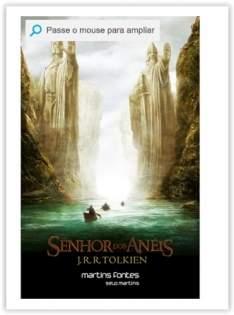 [Voltou-Submarino] Livro - Senhor Dos Anéis, O - Capa Do Filme por R$ 40