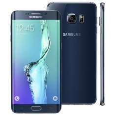 """[Bahia] TOPPP - Smartphone Samsung Galaxy S6 Edge PLUS Preto com 32GB, Tela de 5.7"""", Android 5.1, 4G, Câmera 16 MP e Processador Octa Core"""