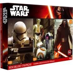 [Americanas]  Quebra Cabeça Star Wars Box Deluxe 1750 Peças - Toyster - R$ 76,49