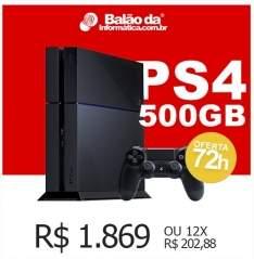 [Balão da Informática ] PS4 + Controle por R$ 1869