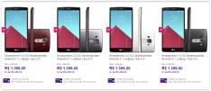 [Sou Barato] Smartphone LG G4 Desbloqueado Android 5.1 Lollipop Tela 5,5'' 32GB Wi-Fi Câmera de 16MP (Varios Modelos) por R$ 1599