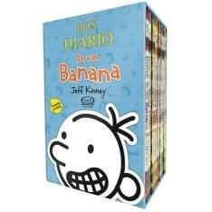 [Extra] Livro - Box Diário de um Banana - 8 Volumes - R$ 89,10