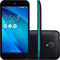 """[Shoptime] Smartphone Asus Live Dual Chip Desbloqueado Android 5 Tela 5"""" 16GB 3G 8MP e TV Digital - Preto a partir de R$ 611"""