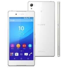 """[Extra] Smartphone Sony Xperia Z3+ Branco com Tela 5.2"""", Dual Chip, 4G, Câmera 20.7MP, Android 5.0 e Processador Qualcomm Octa-core de 64 bits por R$ 1889"""