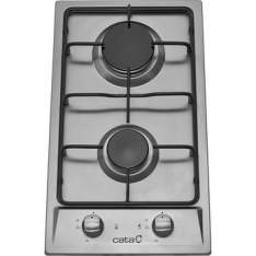 [WALMART] Cooktop à Gás 2 Bocas Cata GI302A Inox - R$378