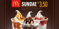 [McDonalds] Sundae por R$4