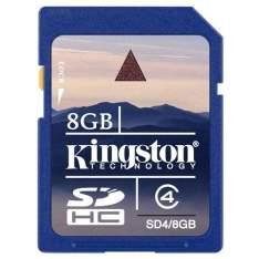 [Extra] Cartão De Memória Para Câmera Sd 8gb Sd4/8gb - Kingston - R$10,00