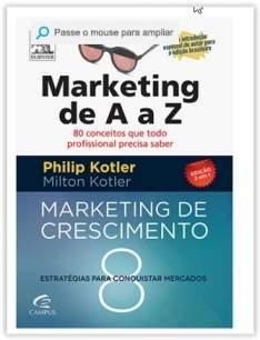 [Submarino] Livro - Marketing de A a Z e Marketing de Crescimento (Edição 2 em 1) por R$ 9