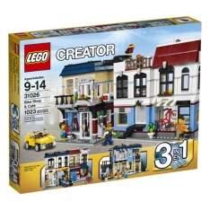 [Casas Bahia] LEGO - Loja de Bicicletas e Café - 1023 Peças - R$370