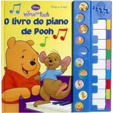 [casas bahia] o livro do piano de Pooh-Disney por R$16,90