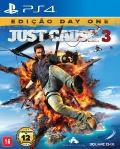 [Saraiva] Just Cause 3 - Edição Day One - PS4 por R$ 154
