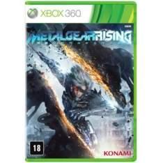 [RICARDO ELETRO] Jogo Metal Gear: Rising Revengeance para Xbox 360 (X360)  - R$8,91