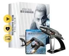 [SARAIVA] Star Trek: Além da Escuridão - KIT - Blu-Ray 3D + Blu-Ray + Phaser  - R$99,00