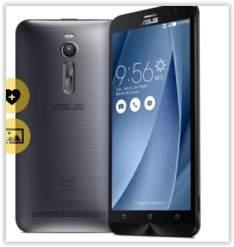 """[Voltou-Saraiva] Smartphone Asus Zenfone 2 Prata Tela 5.5"""" Android 5 Câmera 13Mp Dualchip Intel Atom Quad Core 32Gb por R$ 1234"""
