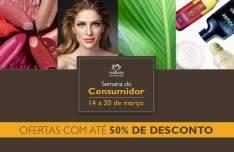 [Natura] Semana do Consumidor 60% de desconto e frete grátis*