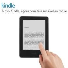 [Amazon] Kindle com tela sensível ao toque e Wi-Fi por R$199
