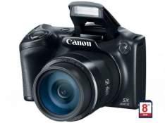 [Magazine Luiza] Câmera Digital Canon SX400IS - 16.0MP Cartão 8GB - R$527