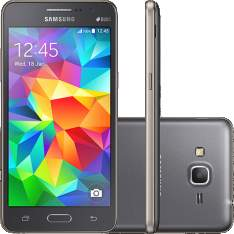 "[Lojas Americanas]Smartphone Samsung Galaxy Gran Prime Duos Dual Chip Android Tela 5"" Memória Interna 8GB 3G Câmera 8MP - Cinza- R$:749,00"